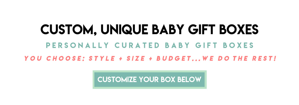 baby gift boxes at little skye