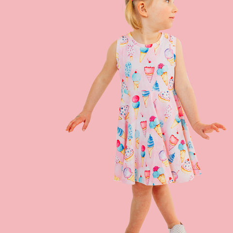 girls boutique ice cream dress