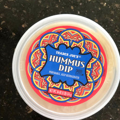Hummus dip at Trader Joe's