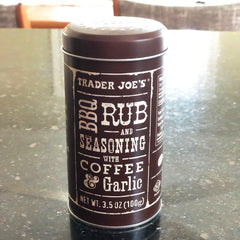 BBQ coffee rub at Trader Joe's
