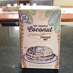Coconut pancake mix at Trader Joe's
