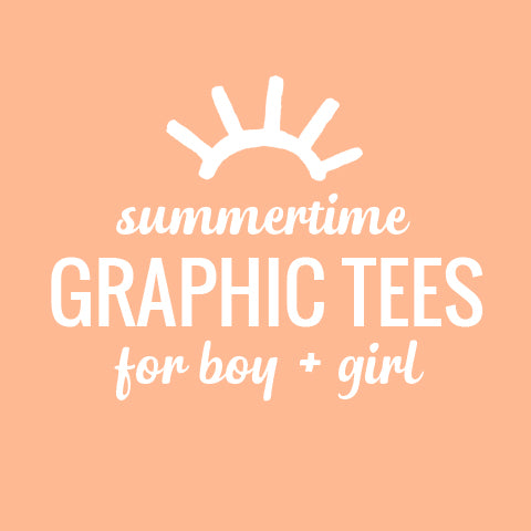 Graphic Kids T Shirts | Kids Boutique