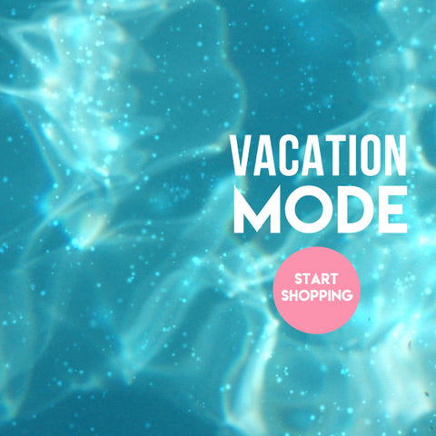 Vacation mode banner at Little Skye
