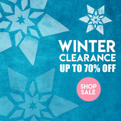Winter sale banner at Little Skye