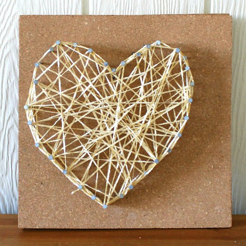 Valentines day string art