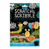 Ooly scratch and scribble art travel set for kids