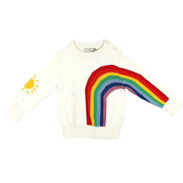 Stella McCartney Kids Baby Girls Rainbow Sweater