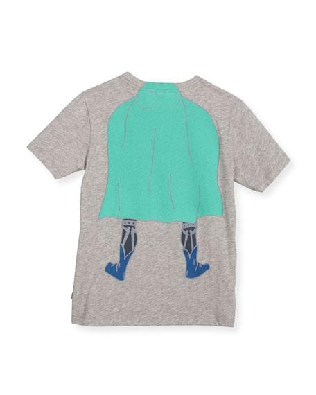 Stella mccartney kids superhero kids graphic tshirt