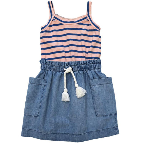 Tide Wash Marina Dress by Anthem of the Ants - Little Skye Children's Boutique