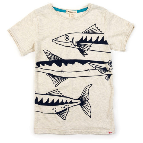 Appaman cream barracuda boys graphic t-shirt