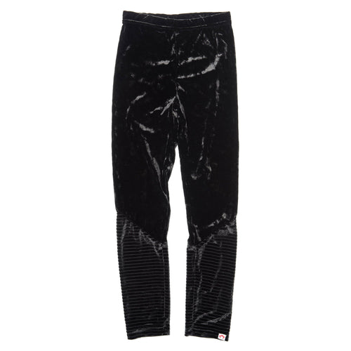 Appaman black velvet girls leggings