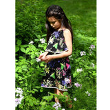 Appaman colorful floral girls sleeveless dress