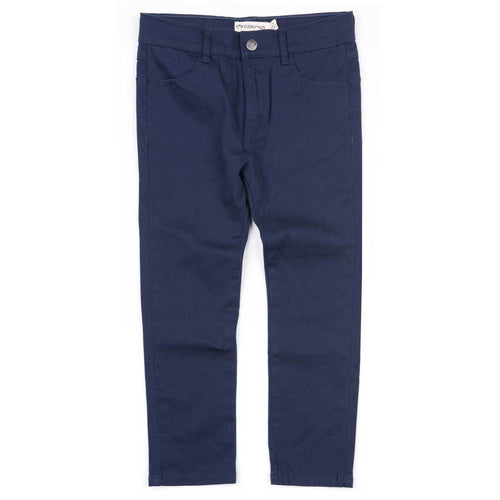 Appaman boys navy blue skinny twill pants for boys