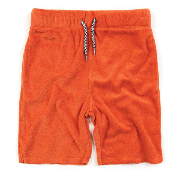 Appaman orange knit boys shorts