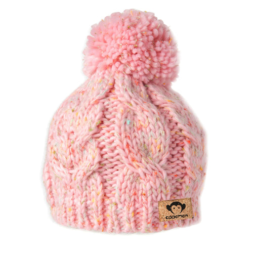 Appaman pink pompom girls beanie