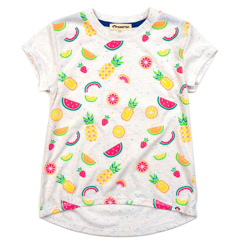Appaman tropical fruit short sleeve girls top