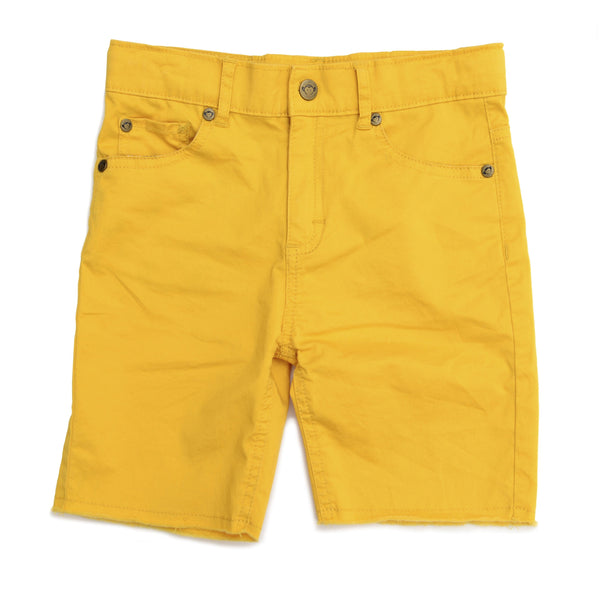 Appaman yellow bermuda denim boys shorts