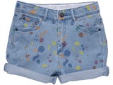 Stella mccartney kids denim girls shorts