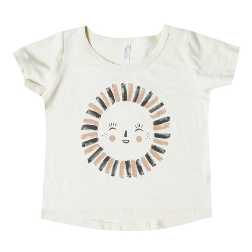 Rylee and Cru Ivory Sun Tee - Little Skye Children's Boutique