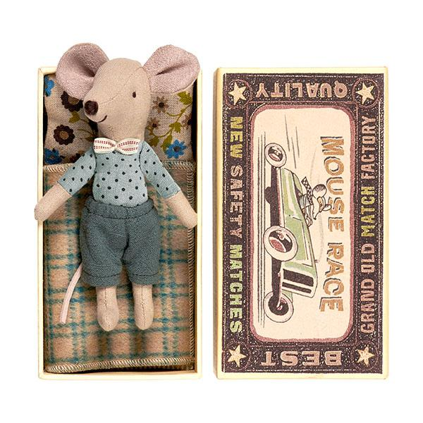 Big Brother Mouse in a Box by Maileg - Little Skye Children's Boutique