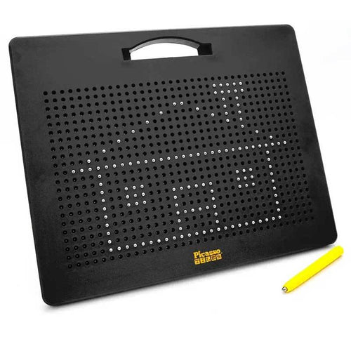 Black magnetic tablet drawing board for kids