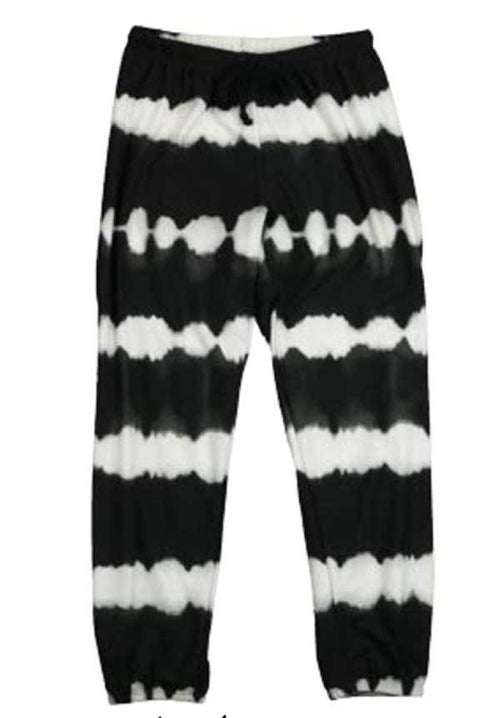 Black tie dye girls sweatpants |T2love