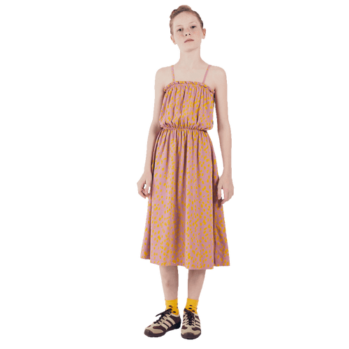 Bobo choses animal print sleeveless dress for girls