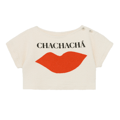 Bobo choses chacha ivory girls sweatshirt