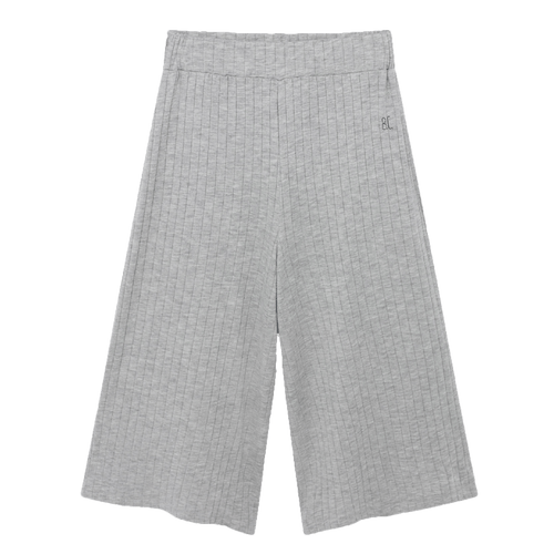 Bobo choses grey jersey girls capri pants