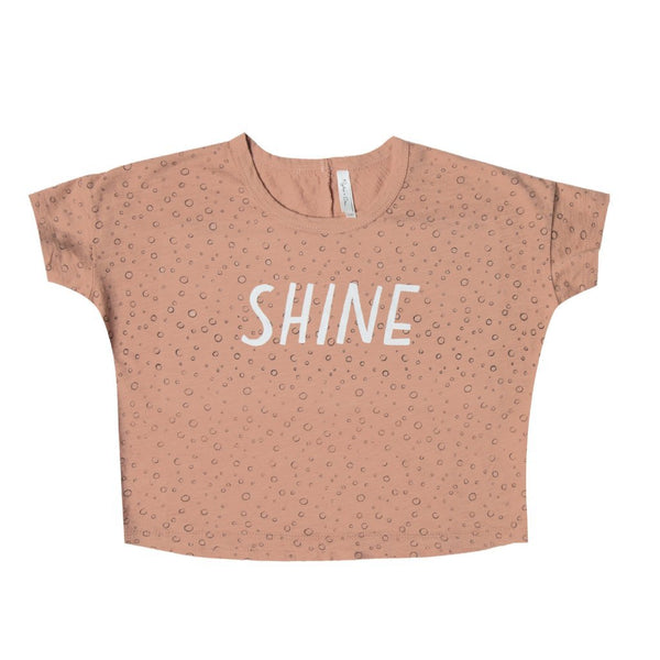 Rylee and Cru Terra Cotta Shine Top - Little Skye Children's Boutique