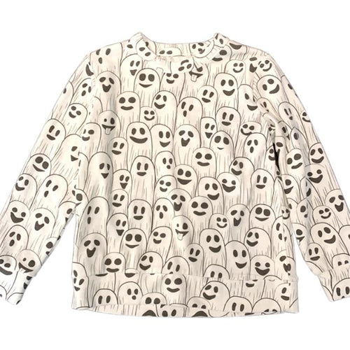 Chaser Ghost Halloween Love Knit Boys Pullover