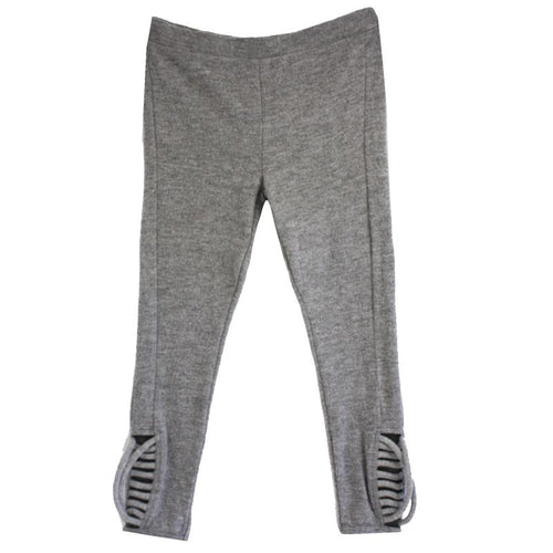 Chaser Grey Fleece Leggings for Girls