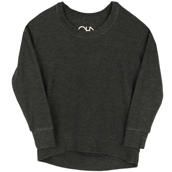 Chaser Kids girls black sweatshirt