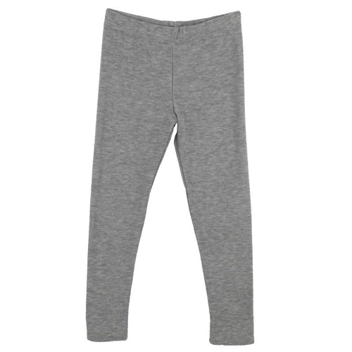 Girls heather grey cozy leggings