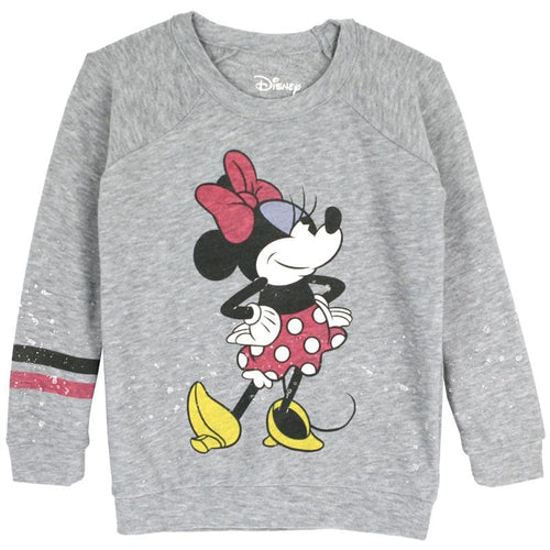 Disney minnie mouse girls sweatshirt by chaser kids