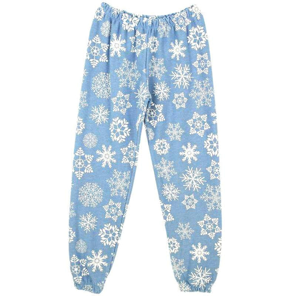 Chaser Snowflake Cozy Knit Girls Sweatpants