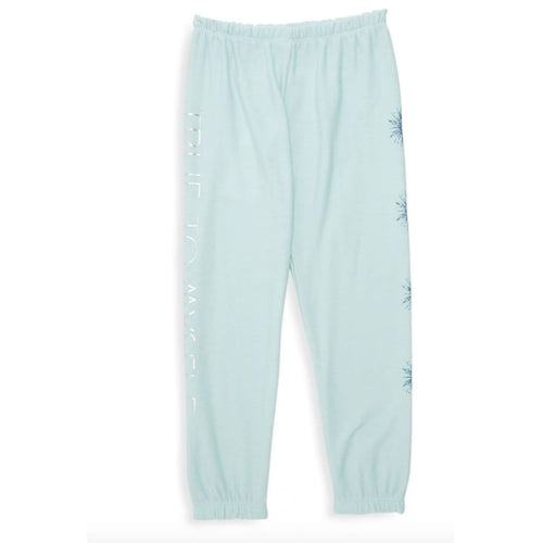 Chaser Frozen 2 light blue fleece Elsa girls sweatpants