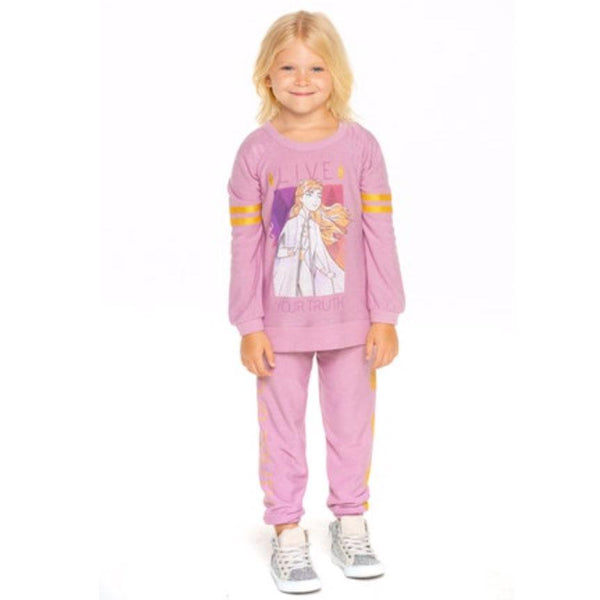 Chaser Frozen 2 Anna pink girls sweatshirt