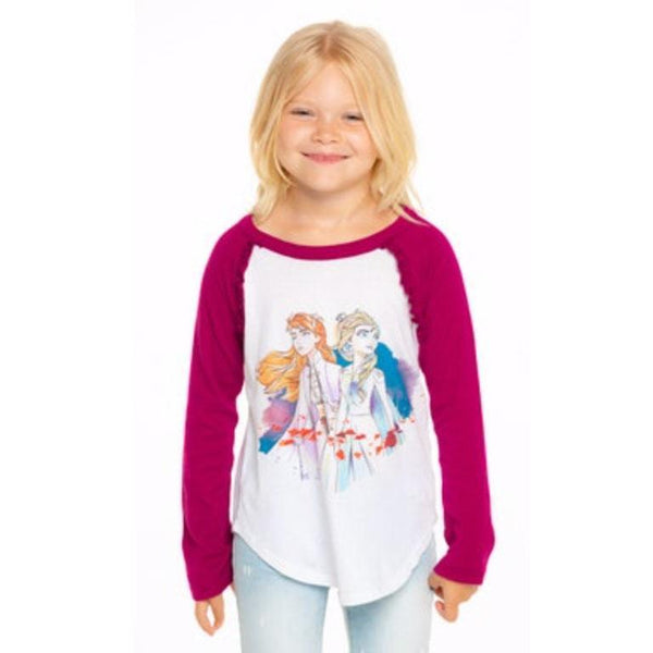 Chaser Frozen 2 Anna and Elsa girls graphic t-shirt