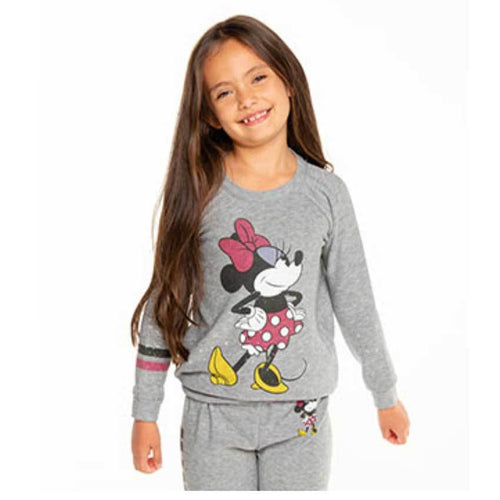 Chaser kids minnie mouse disney girls sweatshirt
