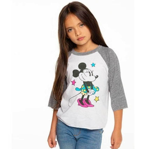 Chaser Kids Minnie Mouse girls t shirt