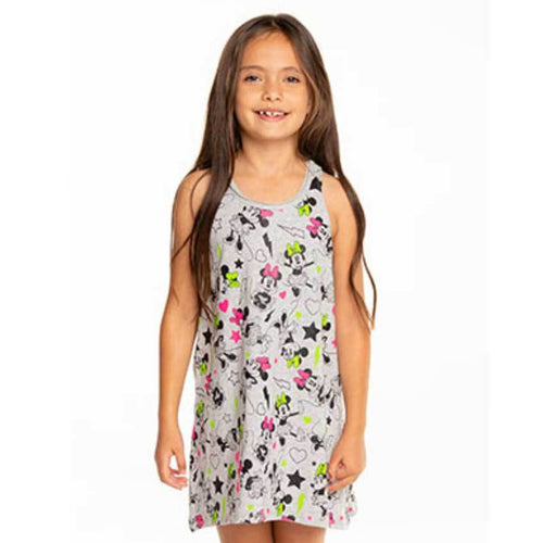 Chaser Kids Disney Minnie Mouse tank dress for girls
