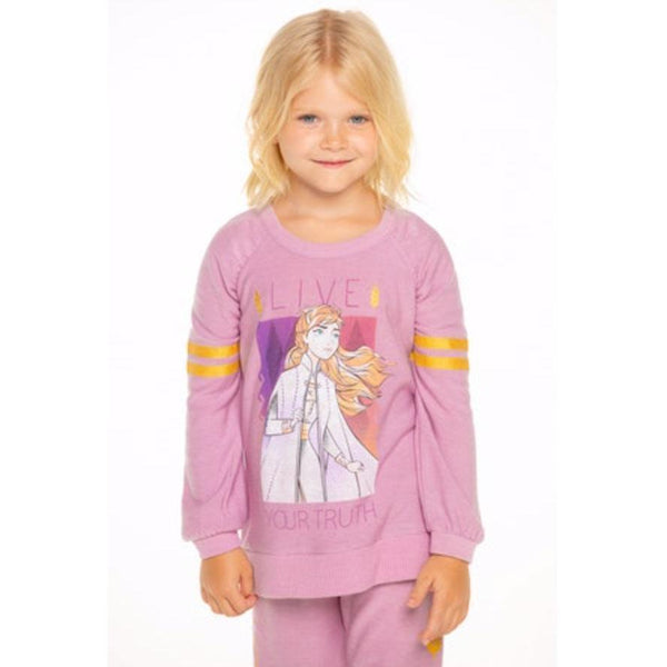 Chaser Frozen 2 Anna pink long sleeve girls sweatshirt