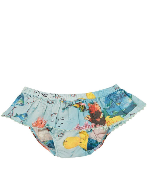 Stella mccartney kids fish print girls swimsuit bottoms
