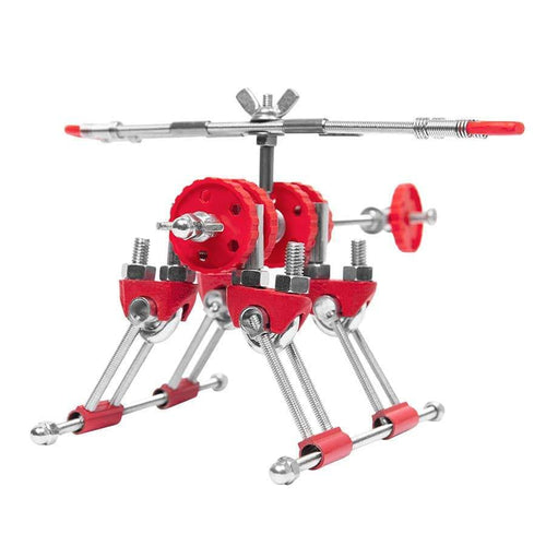 Fatbrain toys red helicopter kids toy
