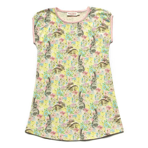 Paper Wings Organic Easter Dreaming Tank Girls Loungewear Dress