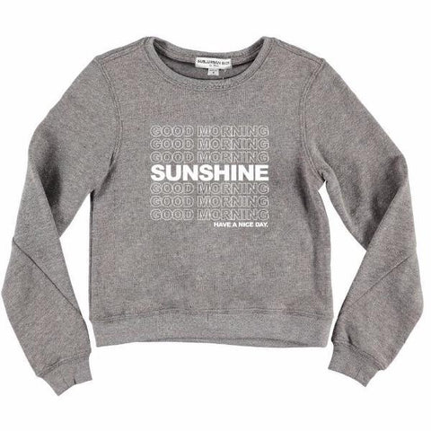 Sub_Urban Riot Good Morning Sunshine Selena Tween Sweatshirt