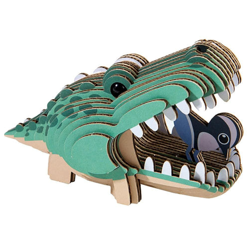 Geo Toys Alligator Kids Puzzle