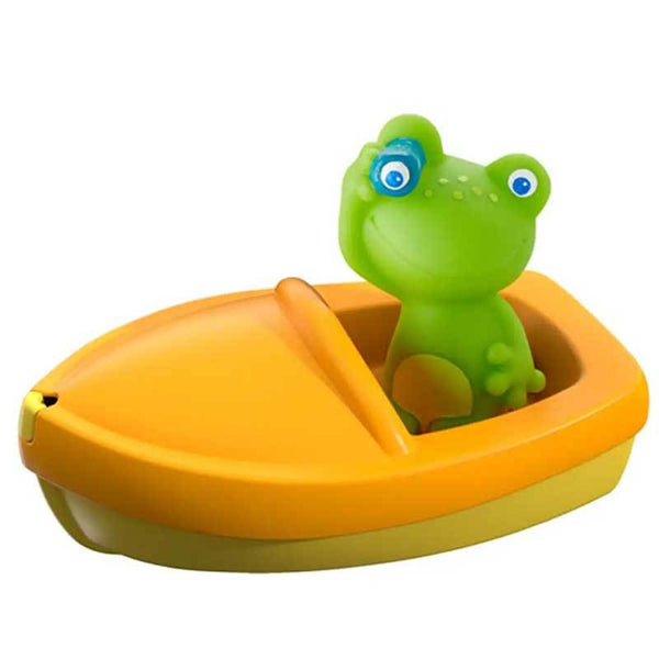 HABA frog with boat bath toy
