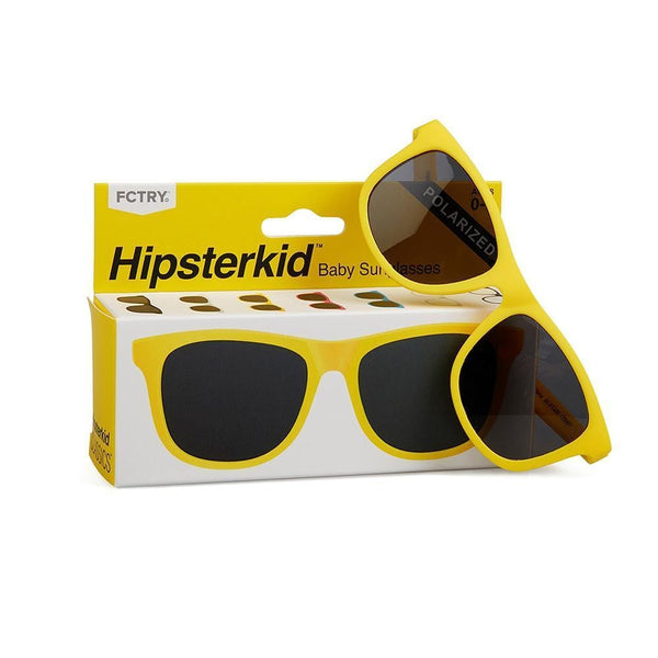 Hipsterkids yellow toddler and baby sunglasses